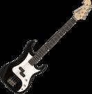 Washburn-P-Bass-Sonamaster-Series-Black-met-hoes-kabel-riem-versterker