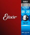 Elixir-Banjosnaren-11600-Light-Polyweb-voor-5-snarige-banjo