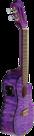 LANIKAI-Concert-ukelele-Quilted-Maple-Serie-Purple-Stain-Voorversterker-Tas