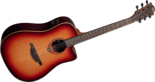 Lâg-T100DCE-Tramontane-dreadnought-met-element-Brown-Shadow