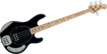 Sterling-SUB-Ray-4-Black-SR4-4-snarige-basgitaar-nu-met-hoes