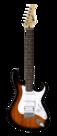 Cort-G110-e-gitaarpakket-2tone-sunburst-met-Marshall-versterker
