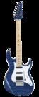 CORT-E-Gitaar-G250DX-Transparent-Blue