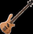 Washburn-T14-Taurus-Bass-Naturel-nu-met-gevoerde-hoes