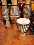 Hardhouten djembé uit Mali, licht hardhout _6