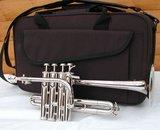 Piccolo Bb Trompet, zilverkleurig _6