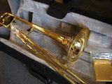 Tenor trombone Bb met stevige hardfoam koffer_6