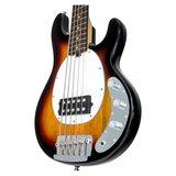 Sterling by Musicman Ray35, 5-snarige basgitaar R35CA SR5, 3tone sunburst, nu met hoes_6