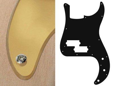 Slagplaat voor precision bass, 2 ply, mirror gold, standaard