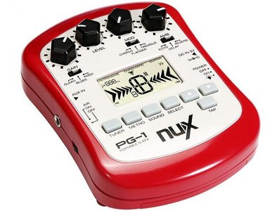 nuX Portable Guitareffects Processor PG-1