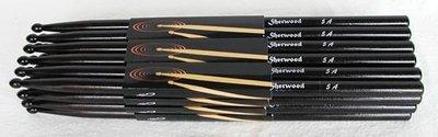 Drumsticks 5A Zwart, 1 paar