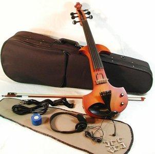 6-snarige elektrische viool 4/4 compleet