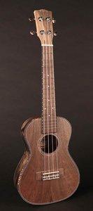 Korala concert ukulele, ultra dun, met gitaarmechanieken, geheel dao