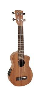 Korala Sopraan ukulele Performer, electro-akoestisch