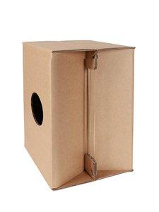 Hayman opvouwbare cardboard Cajon met snare