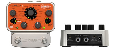 Source Audio SA226 Soundblox 2 Orbital Modulator Multi Effectpedaal