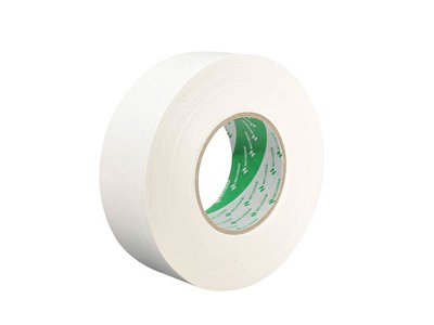 Nichiban Professional gaffa / gaffer toneeltape, wit, 50 mm, 50 meter