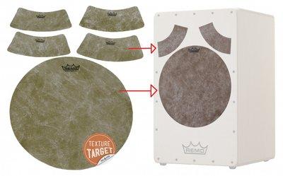 Remo HK-8500-00 Texture Target Curved slagvlakken voor cajon