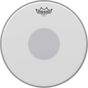 "Remo Drumvel 13"" Emperor X ruw wit tom/ snarevel, black dot underside"