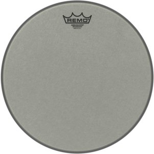 """Remo Drumvel 12"""" of 13"""" RA-0012/13-SS Renaissance Ambassador Tom/ Snarevel"""