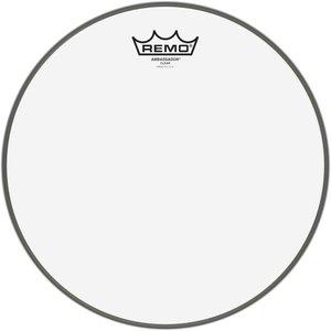"""Remo Drumvel 12"""" BA-0312-00 Ambassador Transparant Tom/ Snarevel"""