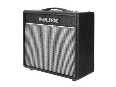 Nux Mighty 20BT versterker voor electrische gitaar, met bluetooth