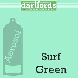 Dartfords Nitrocellulose paint, Surf Green - 400ml aerosol