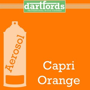 Dartfords Nitrocellulose paint, Capri Orange - 400ml aerosol