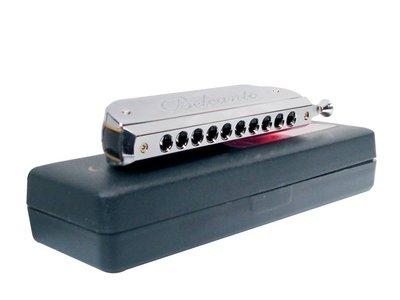 Belcanto chromatische harmonica, 40-tonig, ABS