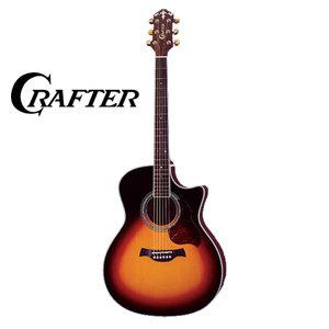 Crafter GAE8/VLSV elektrisch-akoestische western gitaar sunburst