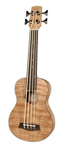 Korala Performer Series bas ukulele, electro-ak, fretloos