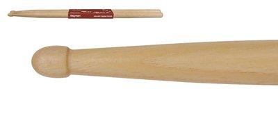 Hayman 2-B drumstokken, hickory, 1 paar, 16,2 x 407 mm