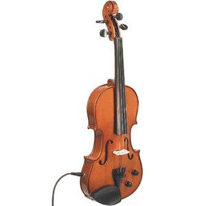 Stentor Elektrische viool, 4/4, Student II met strijkstok en koffer