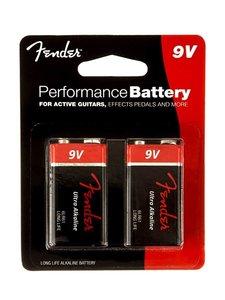Fender 9V batterij, 2-pack