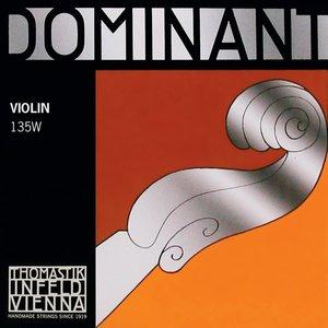 Thomastik Dominant vioolsnaren medium, 4/4 TH135W