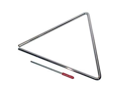 "Triangel 10"" (25 cm) met klopper"