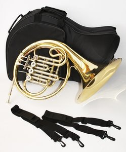ChS French horn, Bb met koffer
