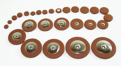 Complete set polsters voor Sopraansaxofoon