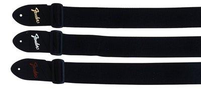 Fender economy riem 5cm poly strap with pick pocket