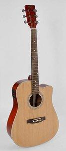 SX SD204CE electro-akoestische gitaar met cutaway
