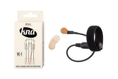 KNA VC-1 piezo pickup met volumeregeling, voor cello