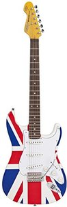 Vintage Union Jack Re-issued Special Edition Reverse Headstock, stratocastermodel