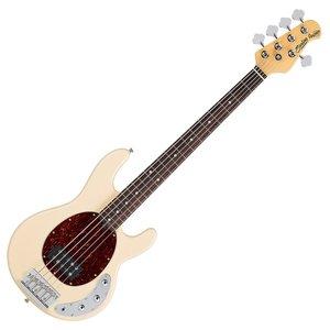 Sterling by Musicman, StingRay Pearl White Ray34-PWH, 4-snarige basgitaar