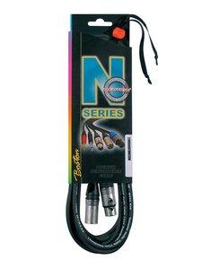 N-Series microfoonkabel, 10 meter xlr, Neutrik connectoren