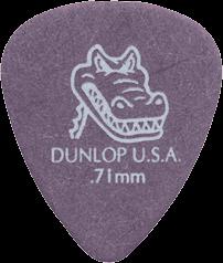 Dunlop plectrums, 12 stuks Gator Grip Standaard, dikte 0.71