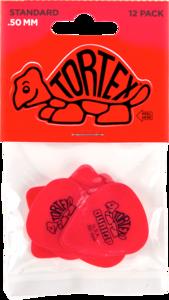 Dunlop plectrums, 12 stuks Tortex Standaard, dikte 0.50