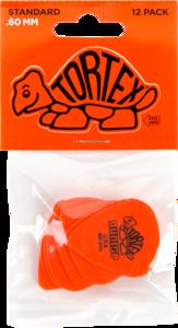 Dunlop plectrums, 12 stuks Tortex Standaard, dikte 0.60
