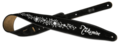 Takamine-gitaarriem-zwart-bloem-7-cm