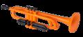 Coolwind-CTR200-Trompet-in-Bb-met-softbag-oranje